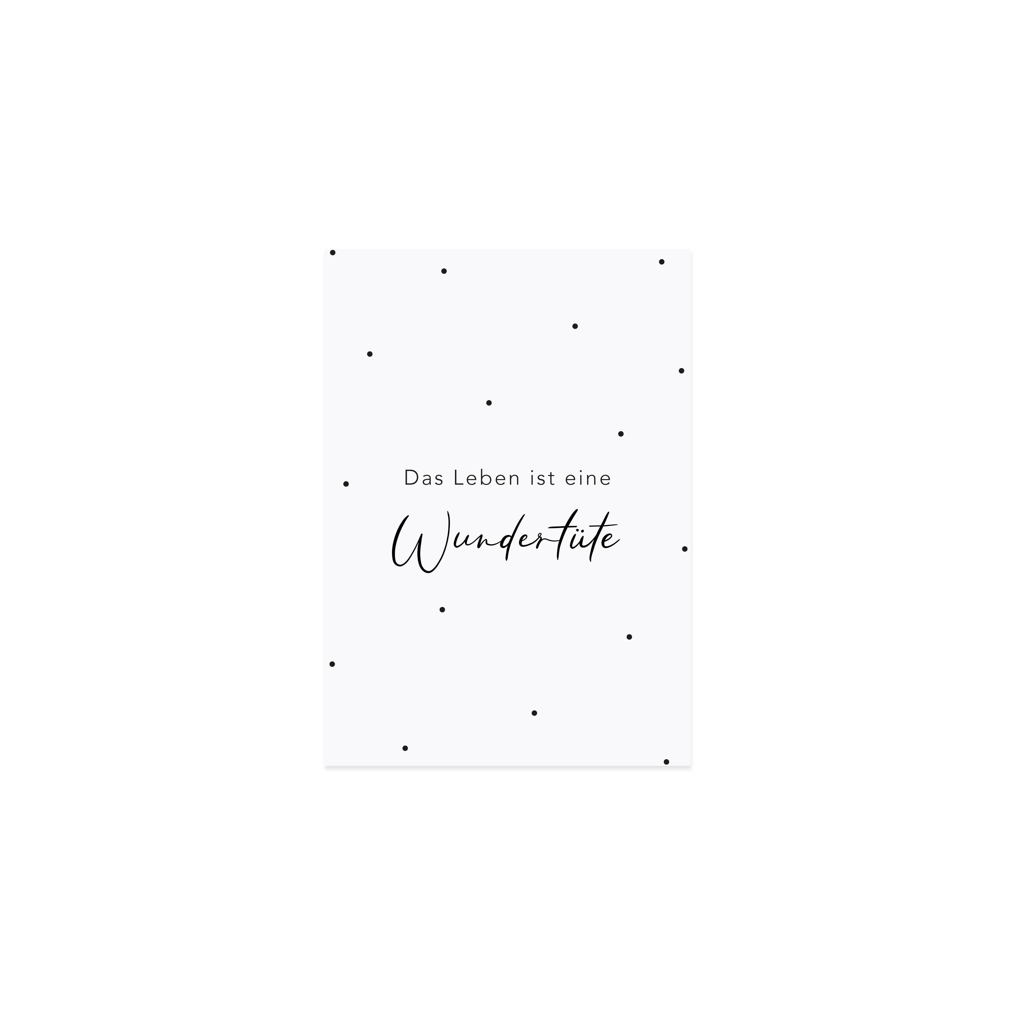 """Spruchkarte """"Wundertüte"""""""