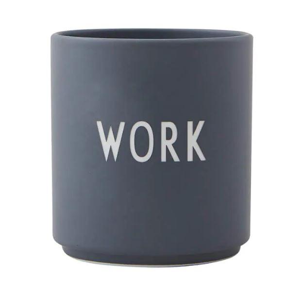 """Becher """"WORK"""""""