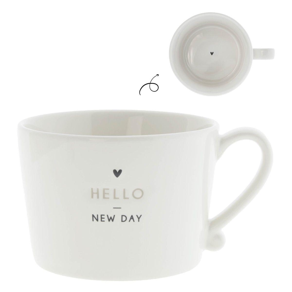 """Tasse """"Hello New Day"""""""