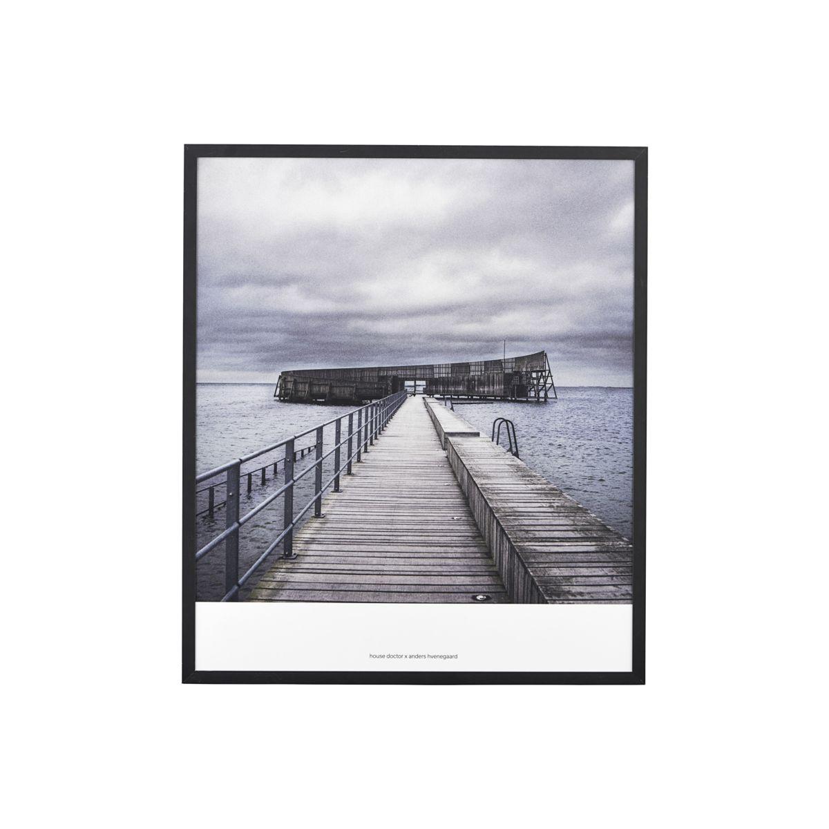 """Bild """"Brücke zum Meer"""""""