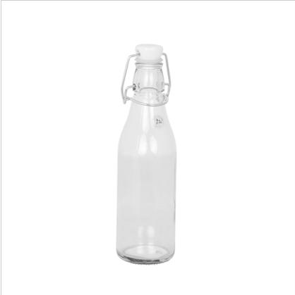 """Glasfläschchen """"Porzelandeckel"""""""