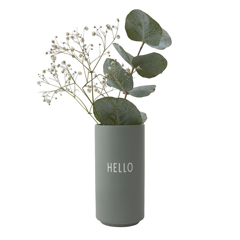 """Vase """"Hello"""""""
