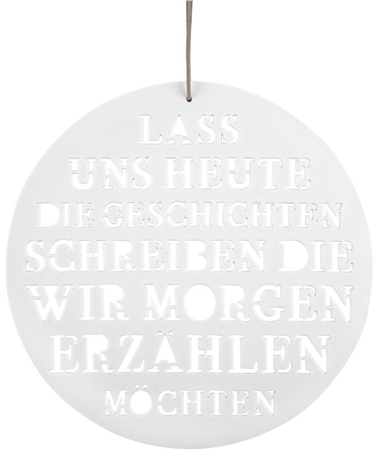 "Hänger ""Poesiebild - Lass uns heute"""