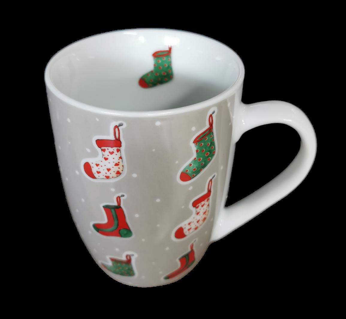 """Weihnachtstasse """"Socky"""""""