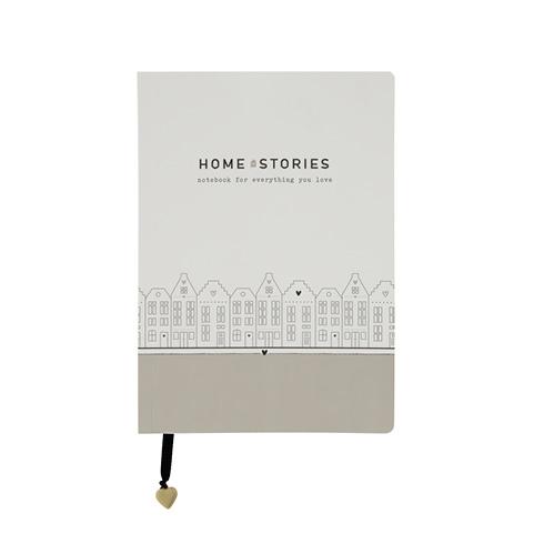 """Notizbuch """"Home Stories"""""""