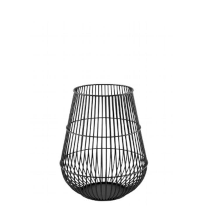Windlicht hoch mit Glaseinsatz