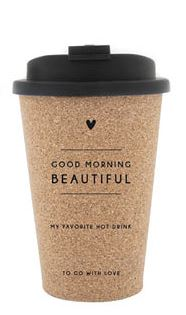 """Becher """"To Go - Beauty in everyday"""""""