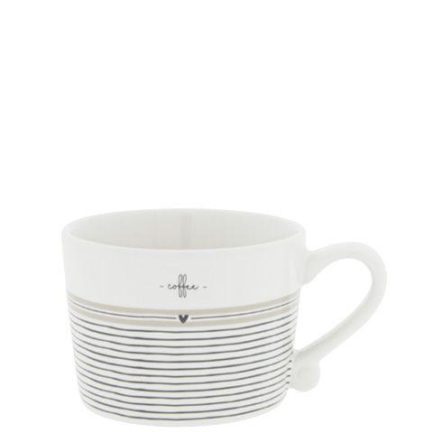 """Kleine Tasse """"Coffee Stripes"""""""