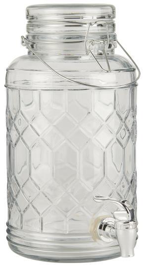"""Glas """"Getränkebehälter"""""""