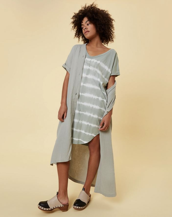 "Kleid ""Dress Tie Dye Pistazie"""