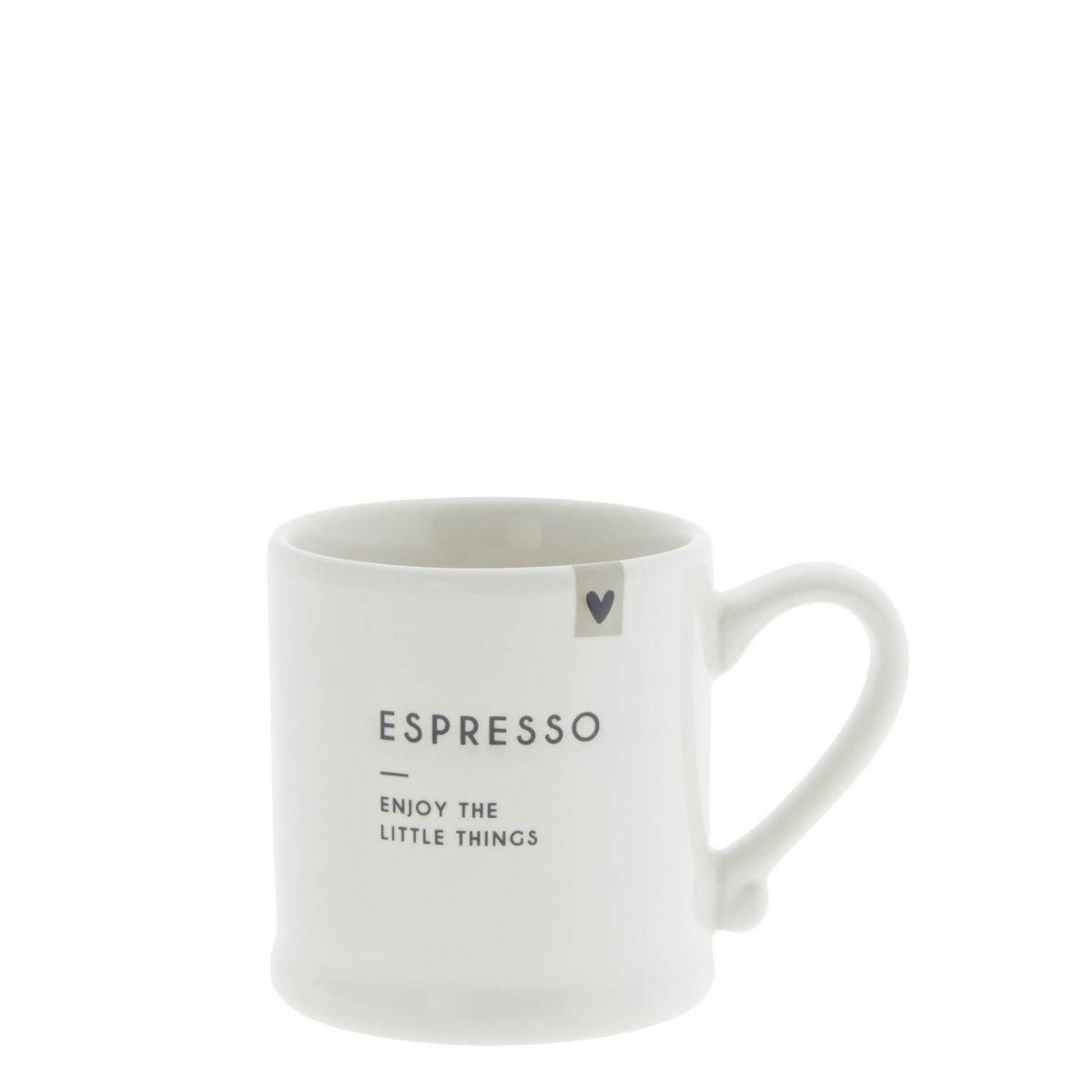 "Espressotasse ""Enjoy The Little Things"""
