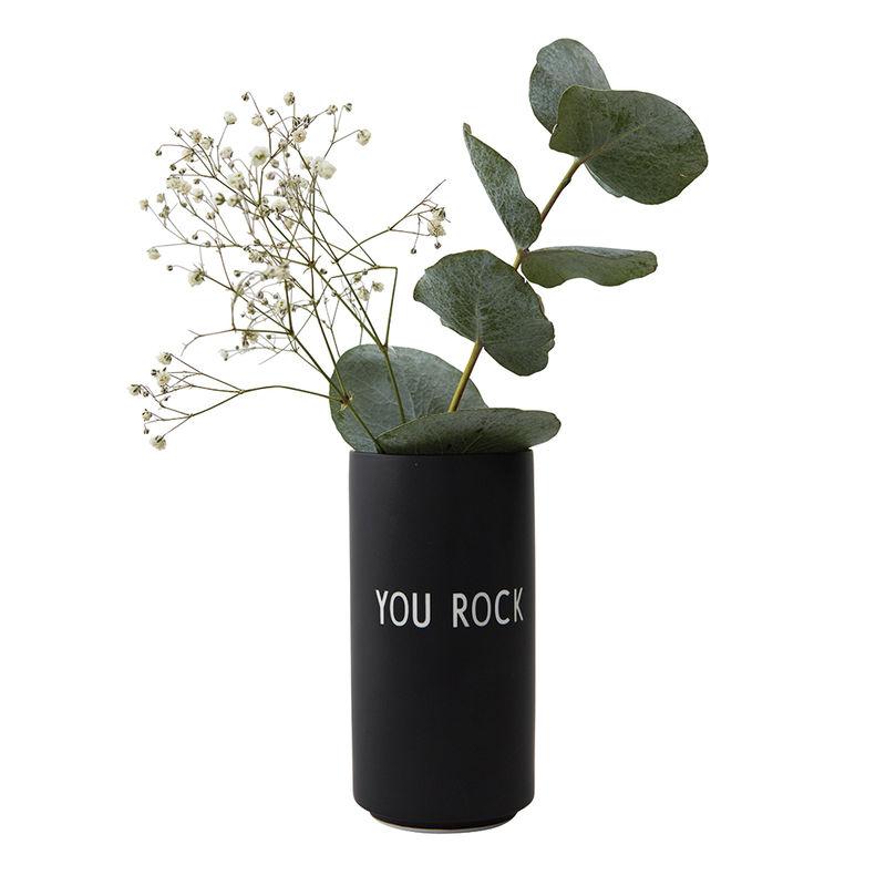 """Vase """"You Rock"""""""