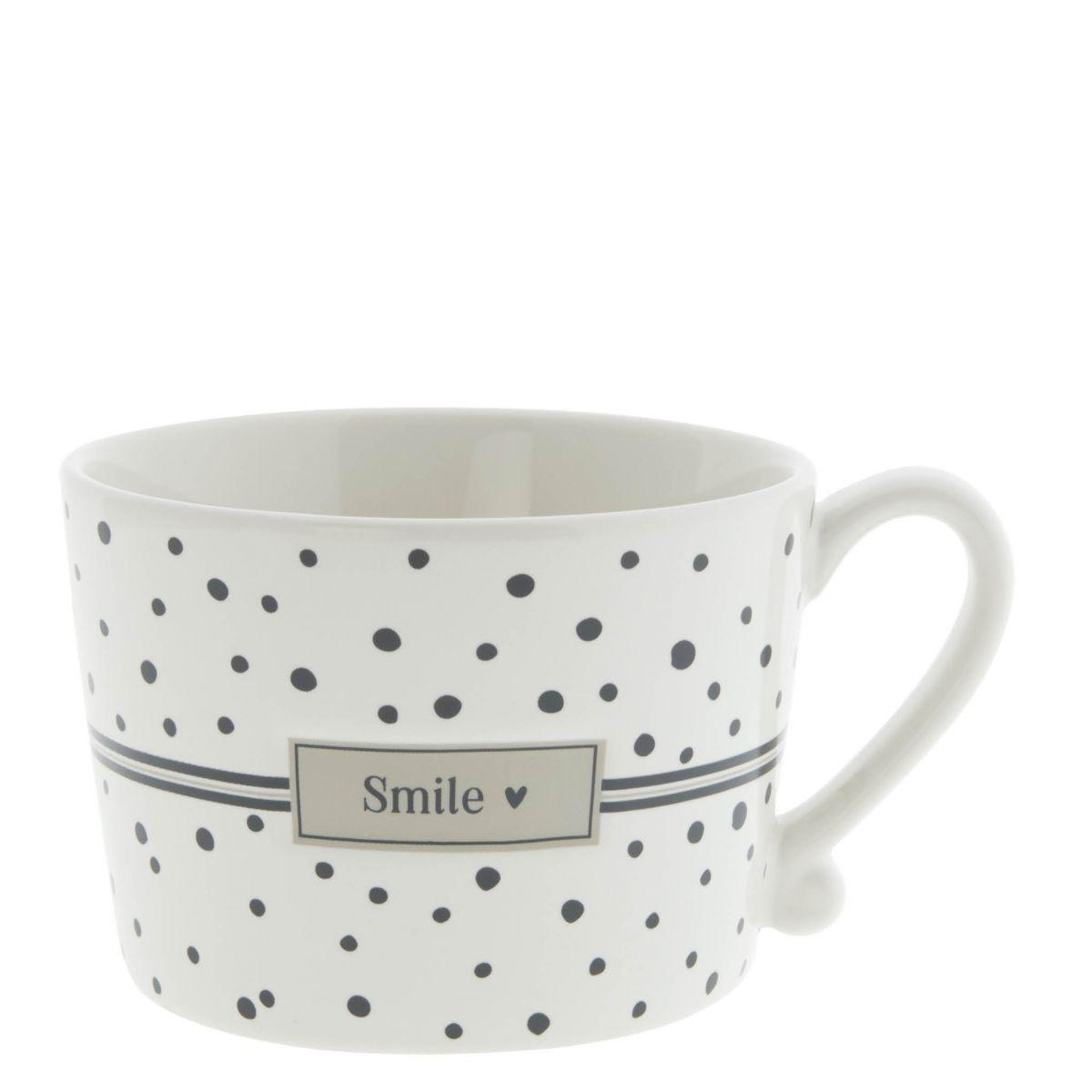 "Tasse ""Smile Black Dots"""