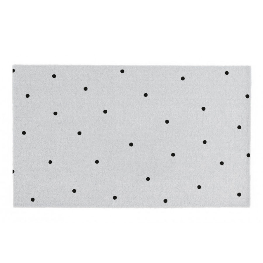"Fußmatte ""Light Grey With Dots"""