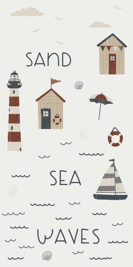 """Serviette """"Sea Sand Waves"""""""