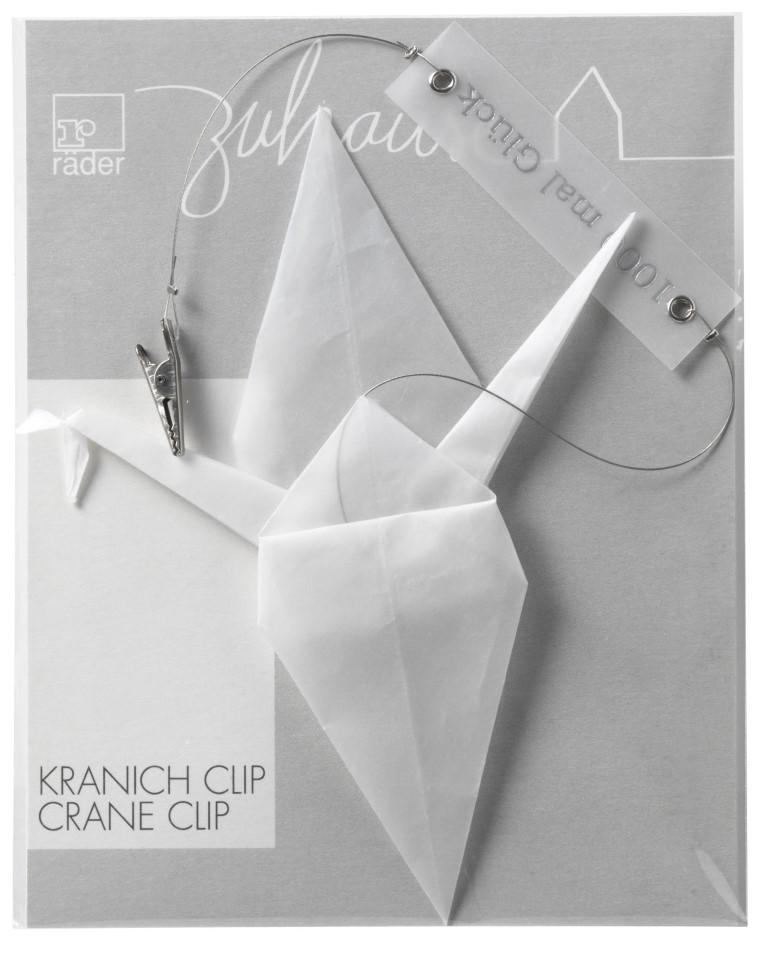 "Hänger ""Origami Kranich Clip"""