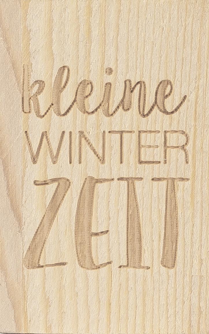 """Glückskästchen """"Kleine Winterzeit"""""""