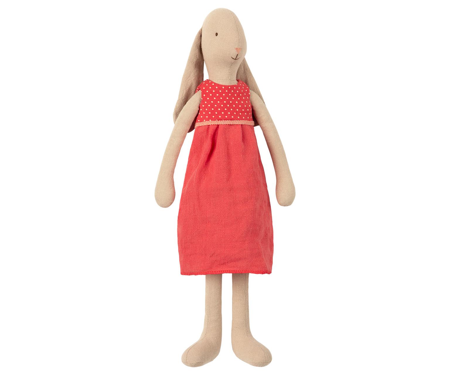 "Mädchenhase ""Rotes Kleid"